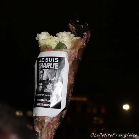 Flowers Je suis Charlie
