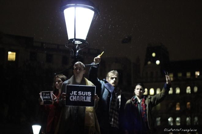 Je suis Charlie Vigil London
